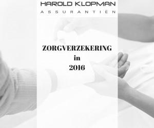 Zorgverzekering in 2016